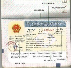 仔細檢查您的簽證