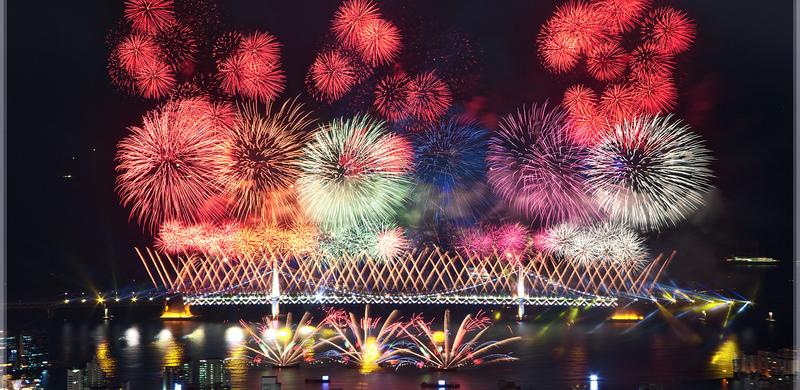 2020年來訪越南欣賞越南峴港國際煙花節