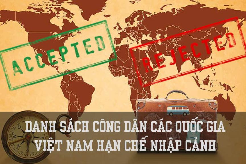 「更新2020年03月」越南對哪些國家的公民限制入境