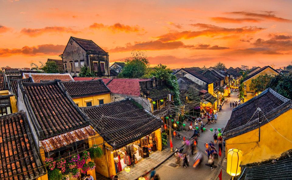 越南會安古鎮準備好歡迎擁有Covid-19疫苗證書的國際遊客